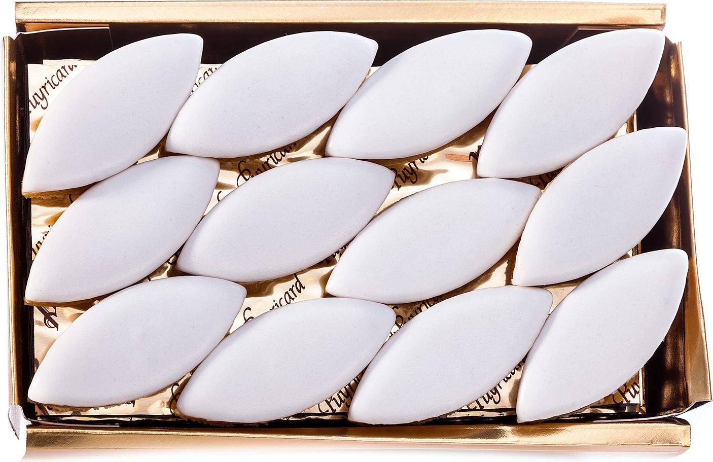 BALLOTIN BOX OF AMANDAS AND AVELINAS IN PRALINE AND ICING SUGAR 500 G