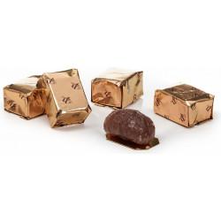SLIMLINE BOX OF CANDIED CHESTNUTS 100 G
