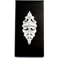 Tablette chocolat noir à la Versinthe
