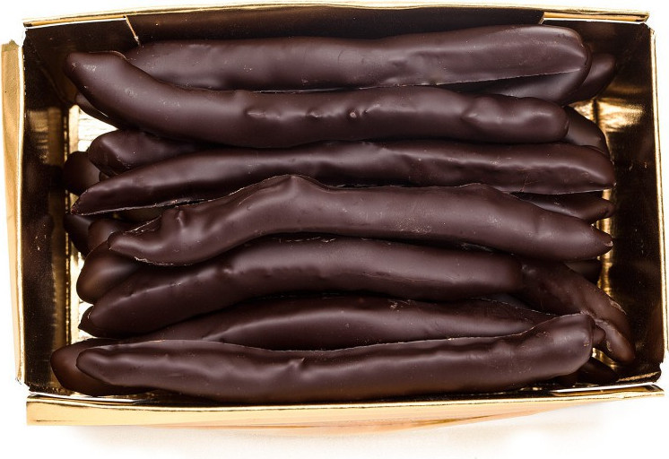 Cœur chocolat noir garni 50g