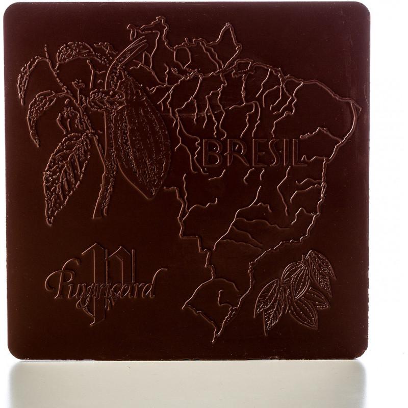 Tablette de chocolat noir 62% Pure Origine Brésil