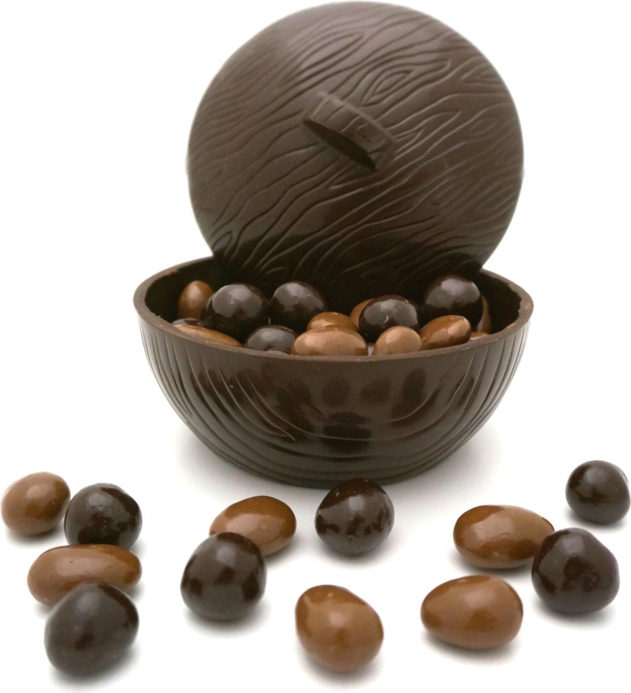 Duo de Petits Pots de Muguet en chocolat noir
