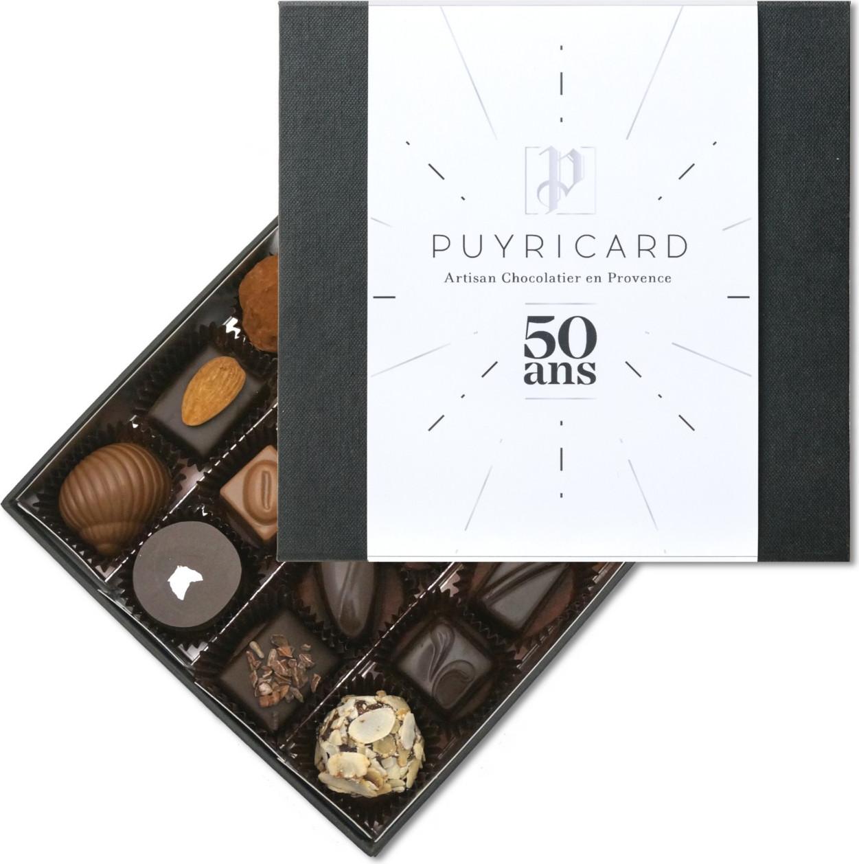 Lot 3 Tablettes de Chocolat Pure Origine Fête des Mères