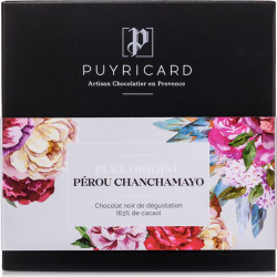 Chocolate Bar Pure Origin Peru Chanchamayo 63 %