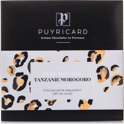 Pure Origin Tanzania 38% Milk Chocolate Bar