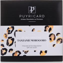 Pure Origin Tanzania 38% Milk Chocolate Bar