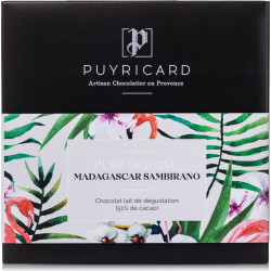 Pure Origin Madagascar Sambirano 51% Milk Chocolate bar