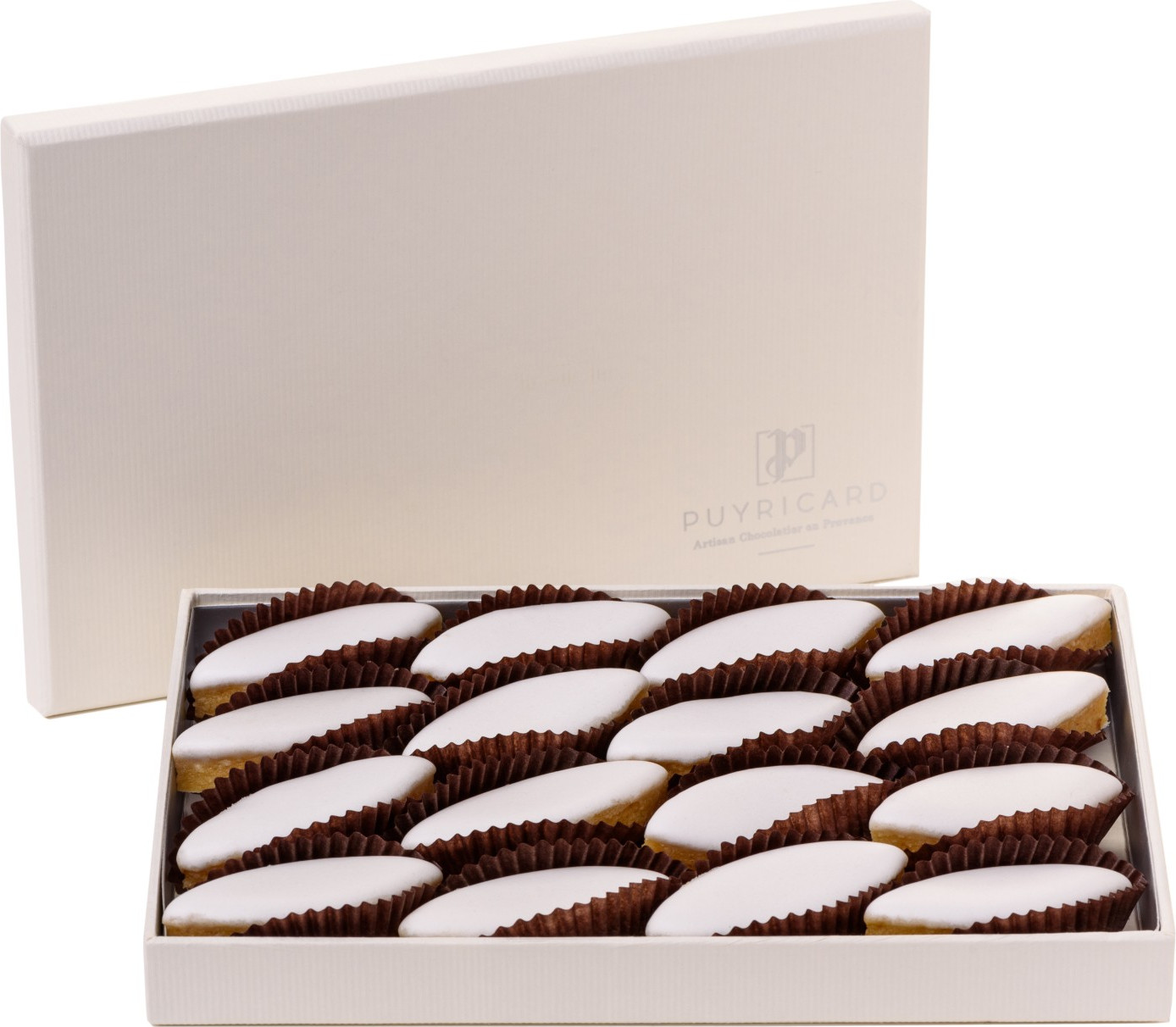 BALLOTIN BOX OF CANDIED CHESTNUTS 750g