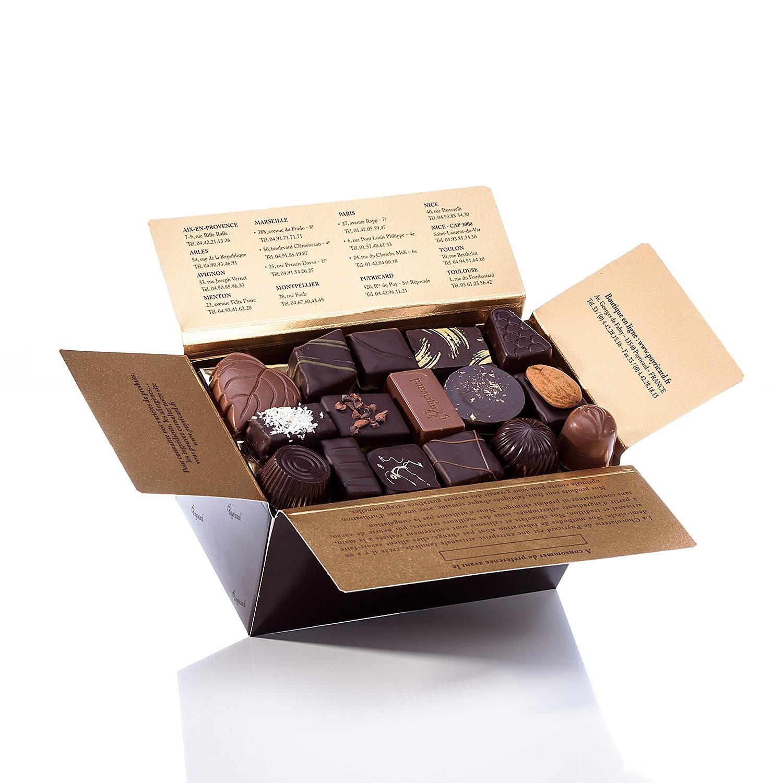 BALLOTIN BOX OF CANDIED ORANGE AND LEMON 1 KG