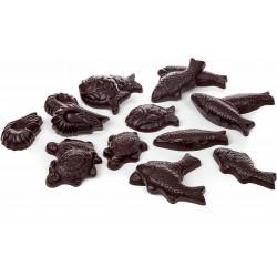 Chat Figaro en chocolat de Pâques garni 11cm