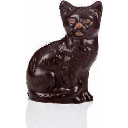 Sitting Chocolate Cat 50g
