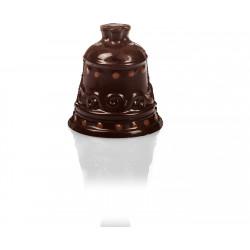 Cloche en chocolat de Pâques garnie 8cm
