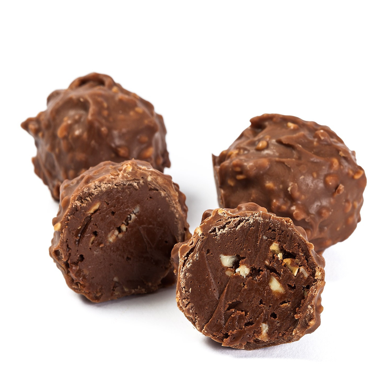 HAT BOX OF CHOCOLAT TRUFFLES 370 g