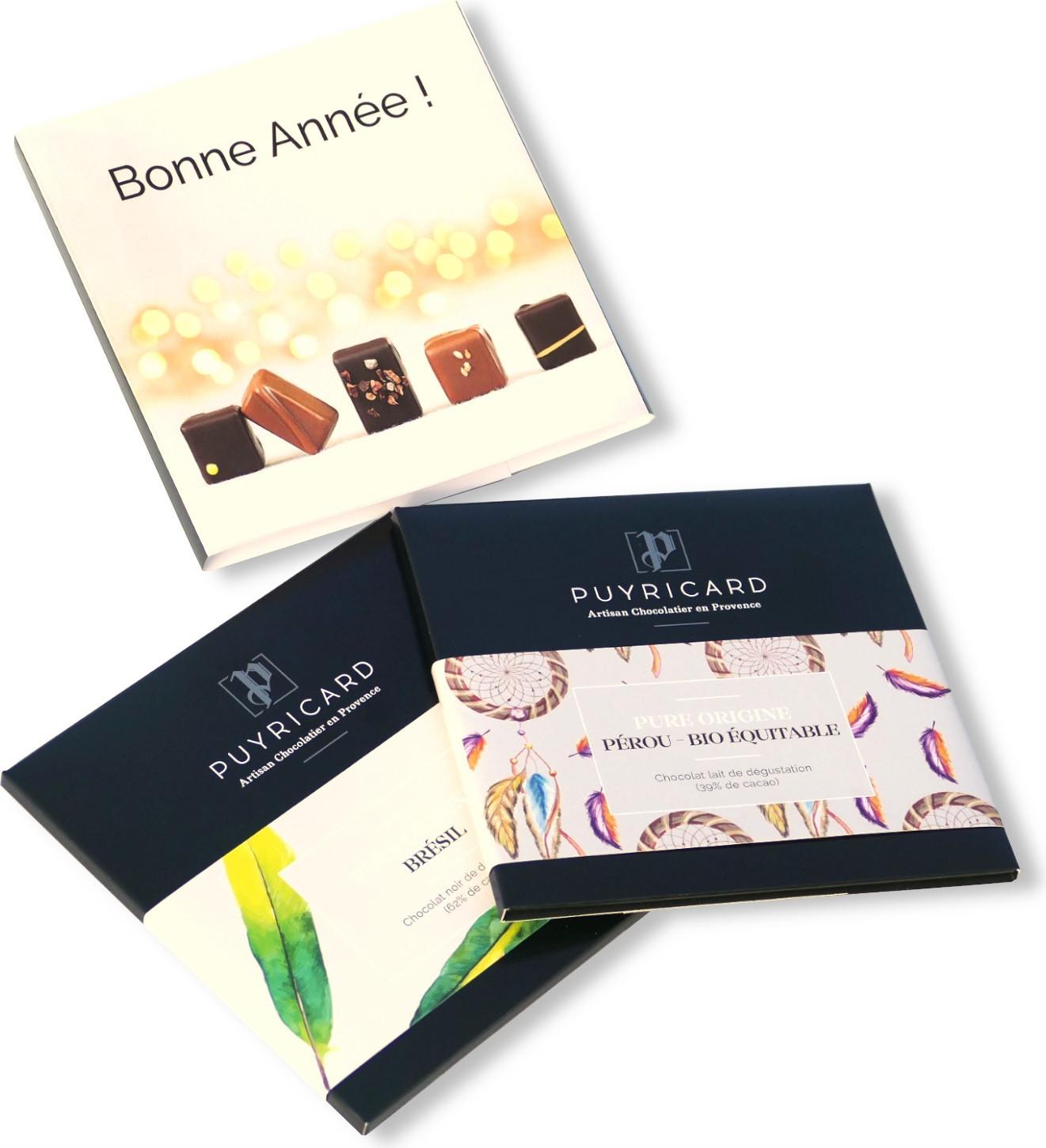 Boxed set Le Coquet de Chocolats 600g