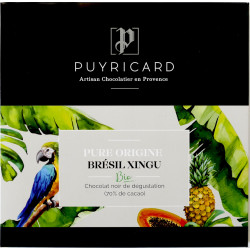 BAR OF PURE ORIGINE BRESIL XINGU BIO CHOCOLATE 100 G