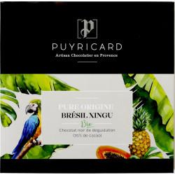 Tablette de Chocolat noir 70% Pure Origine Brésil Xingu Bio 100g