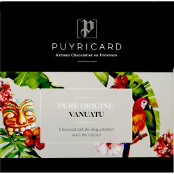 BAR OF PURE ORIGINE VANUATU CHOCOLATE 100 G