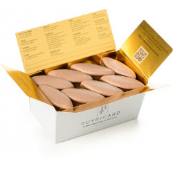 Boîte Carrée Fluo 450g de chocolats