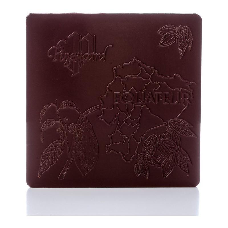 Tablette de Chocolat Pure Origine Equateur 100g