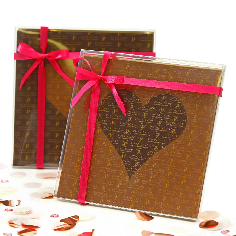 Mango Chocolate Hearts Rulerbox 90g
