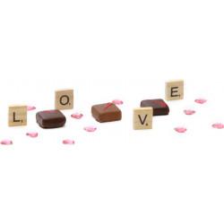 Ballotin sujets pralinés de Pâques en chocolat 250g