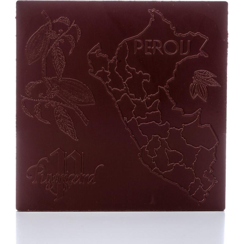Tablette Chocolat Noir 63% Pure Origine Pérou
