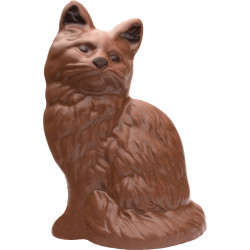 Sitting Chocolate Cat 250g