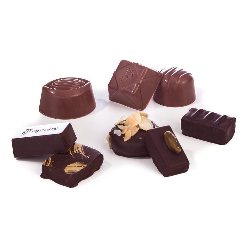 Cloche en chocolat de Pâques garnie 17cm