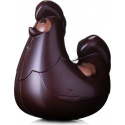Poule de Pâques en chocolat garnie 18cm
