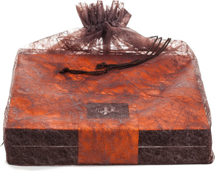 BALLOTIN BOX OF CHOCOLATE-COVERED ORANGETTES 200 G