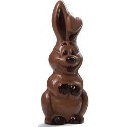 Lapin en chocolat de Pâques garni 30cm