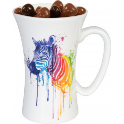 Zebra Gourmet Mugs