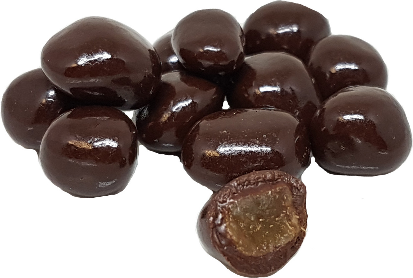 Lapin couché en chocolat garni 24cm