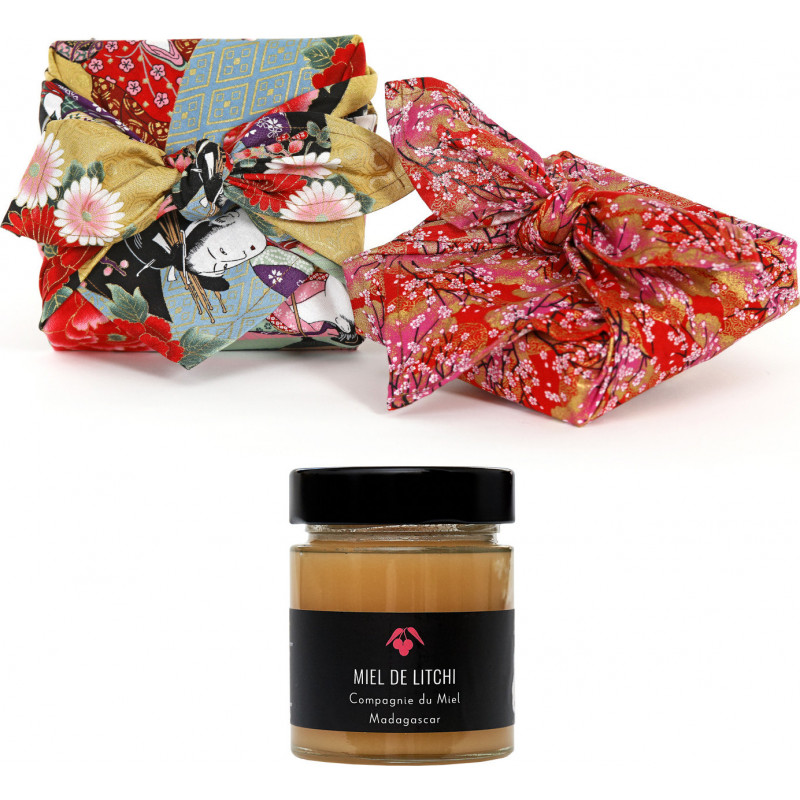Pack Furoshiki Honey Litchi Mother's Day