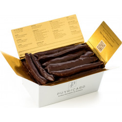 BALLOTIN BOX OF CHOCOLATE-COVERED CANDIED ORANGE 200 G