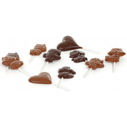 Chocolate animal lollipop 20g