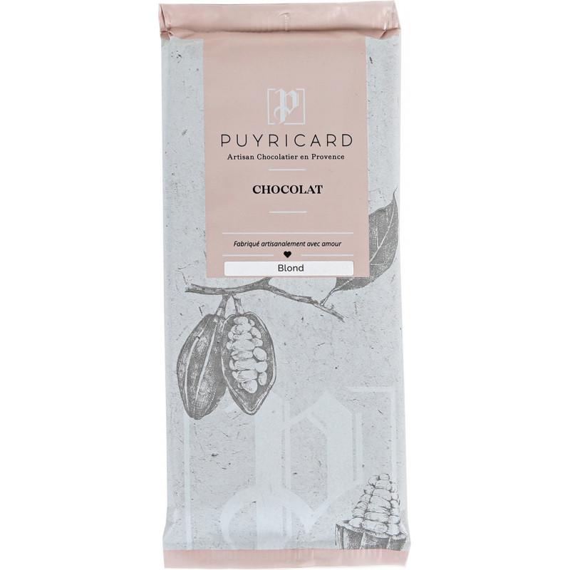 Blond chocolate tab