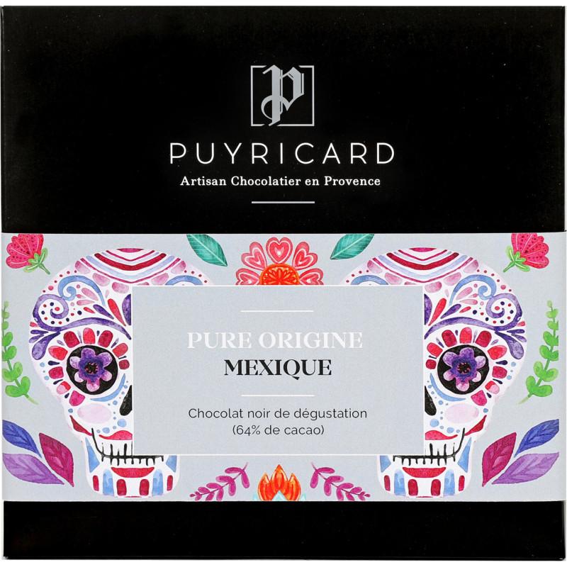 Tablette de Chocolat Noir Pure Origine 66% Mexique
