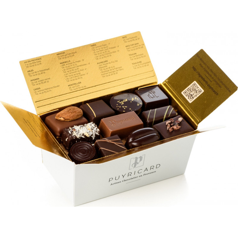 BALLOTIN BOX OF FINE CHOCOLATES 250 G