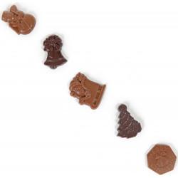 Friture de Noël en chocolat
