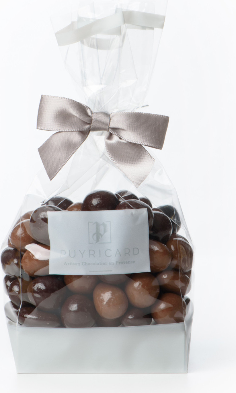 Réglette de billes au gingembre chocolat noir 150g