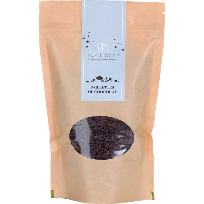 Chocolate flake in a bag