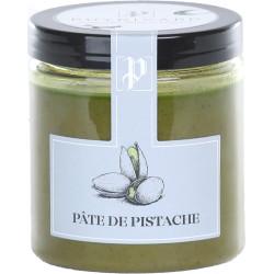 Pâte de pistache en pot