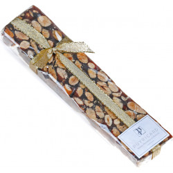 BAR OF BLACK NOUGAT 200 G