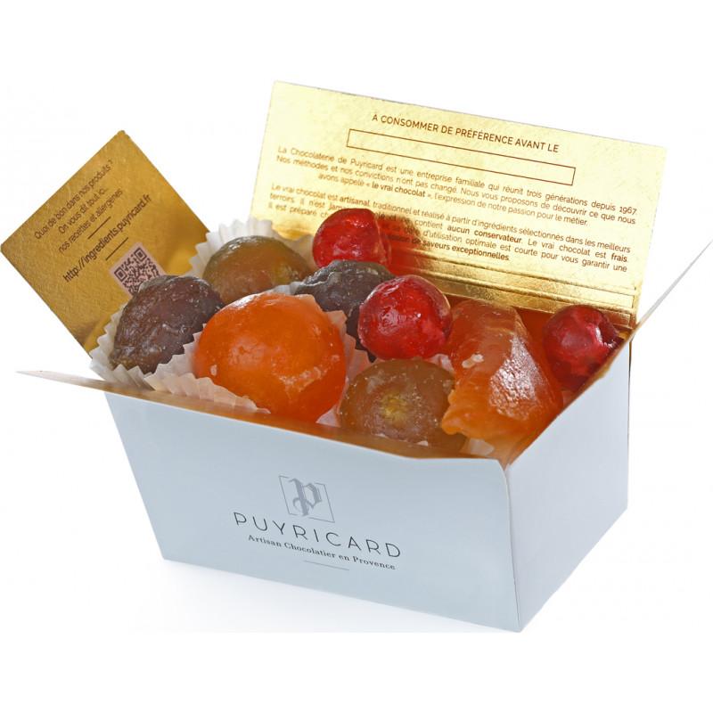 BALLOTIN BOX OF CANDIED FRUITS 250G
