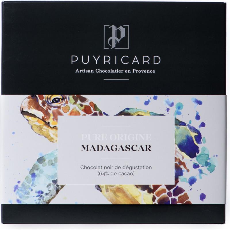 BAR OF PURE ORIGINE MADAGASCAR CHOCOLATE 64%