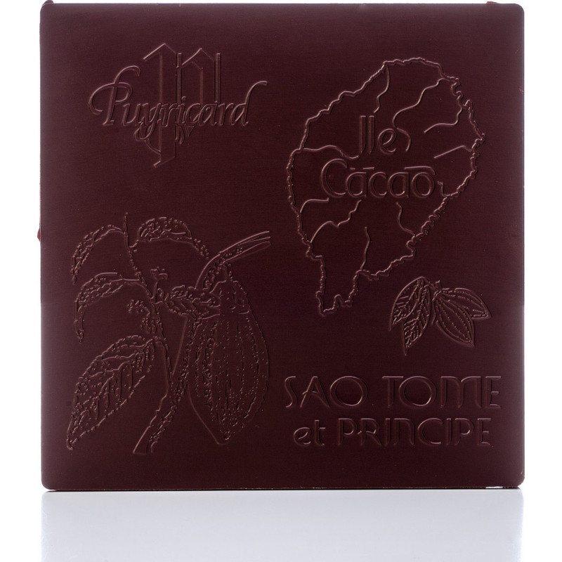 Tablette chocolat noir 87% Pure Origine Sao Tomé et Principe