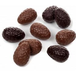 Oeuf chocolat de Pâques garni 15cm