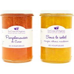 """Confiture Sous Le Soleil """"oranges, citrons et mandarines"""""""