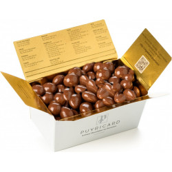 Box of grapefruit milk balls